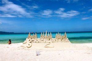 bãi biển boracay philippines